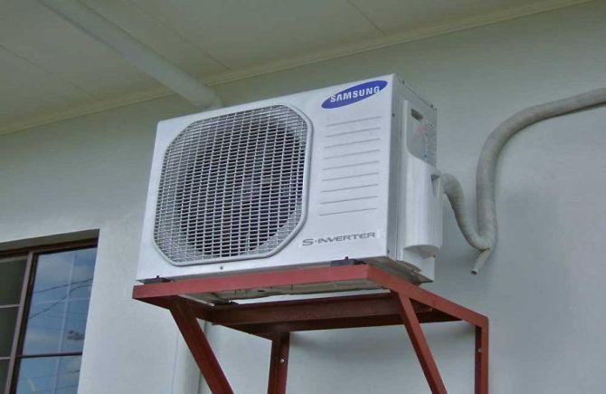 Làm thế nào để bảo vệ máy lạnh vào mùa mưa ??