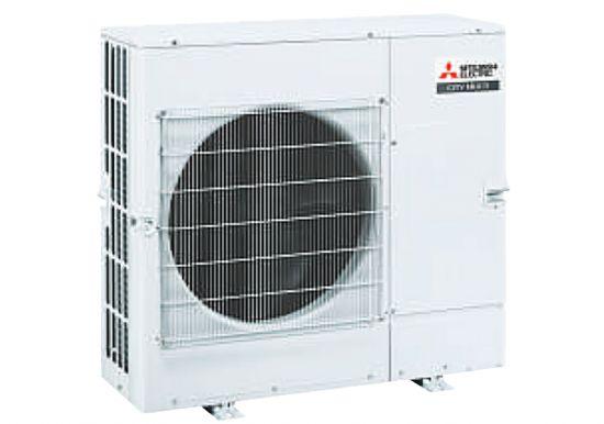 Dàn nóng giải nhiệt gió Mitsubishi Electric inverter (4.0Hp) PUMY-CP100YKM.TH (-BS) - 3 pha