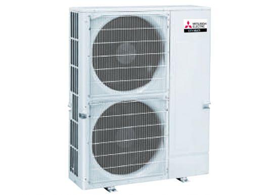 Dàn nóng giải nhiệt gió Mitsubishi Electric inverter (5.0Hp) PUMY-P125YKM4 (-BS) - 3 pha
