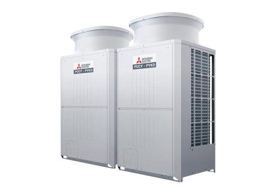 Tổ hợp dàn nóng giải nhiệt gió Mitsubishi Electric inverter (22.0Hp) PUCY-P550YSKD (-BS) (PUCY-P250YKD.TH + PUCY-P300YKD.TH)