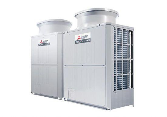 Tổ hợp dàn nóng giải nhiệt gió Mitsubishi Electric inverter (30.0Hp) PUCY-P750YSKD (-BS) (PUCY-P300YKD.TH + PUCY-P450YKD.TH)