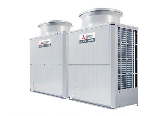 Tổ hợp dàn nóng giải nhiệt gió Mitsubishi Electric inverter (34.0Hp) PUCY-P850YSKD (-BS) (PUCY-P400YKD.TH + PUCY-P450YKD.TH)