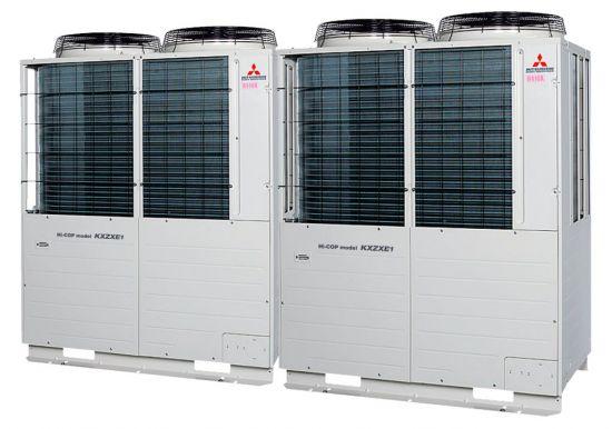 Tổ hợp dàn nóng VRV Hiệu suất cao Mitsubishi Heavy inverter (16.0Hp) FDC450KXZXE1 (FDC224KXZXE1+FDC224KXZXE1)