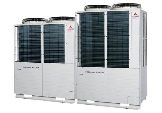 Tổ hợp dàn nóng VRV Hiệu suất cao Mitsubishi Heavy inverter (18.0Hp) FDC500KXZXE1 (FDC224KXZXE1+FDC280KXZXE1)