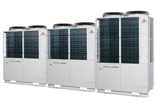 Tổ hợp dàn nóng VRV Hiệu suất cao Mitsubishi Heavy inverter (26.0Hp) FDC735KXZXE1 (FDC224KXZXE1+FDC224KXZXE1+FDC280KXZXE1)