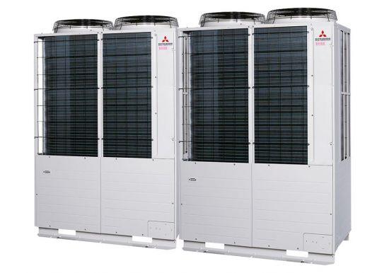 Tổ hợp dàn nóng VRV Tiêu chuẩn Mitsubishi Heavy inverter (40.0Hp) FDC1120KXZE1 (FDC560KXZE1+FDC560KXZE1)