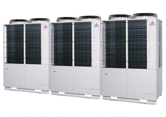 Tổ hợp dàn nóng VRV Tiêu chuẩn Mitsubishi Heavy inverter (44.0Hp) FDC1250KXZE1 (FDC400KXZE1+FDC400KXZE1+FDC450KXZE1)