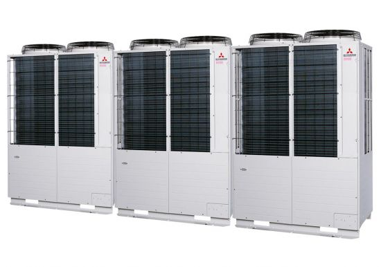 Tổ hợp dàn nóng VRV Tiêu chuẩn Mitsubishi Heavy inverter (46.0Hp) FDC1300KXZE1 (FDC400KXZE1+FDC450KXZE1+FDC450KXZE1)