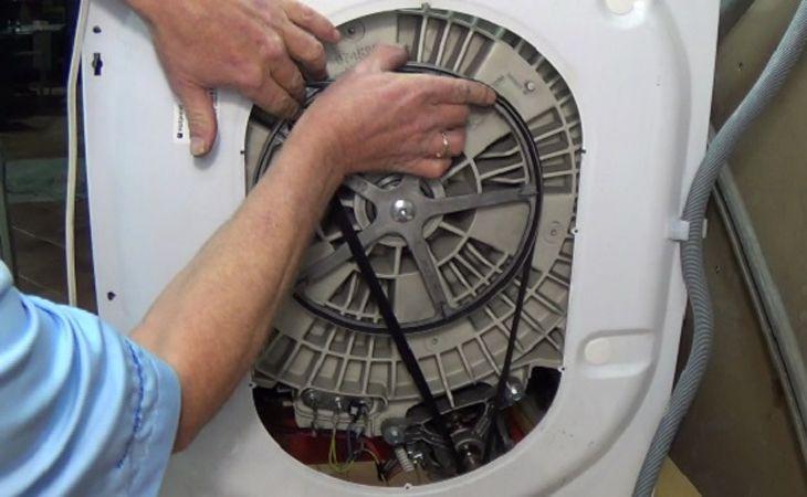 Hướng dẫn cách tự thay dây curoa cho máy giặt